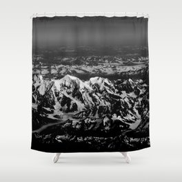 Glacial 2 Shower Curtain