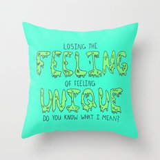 Nine in the Afternoon Throw Pillow