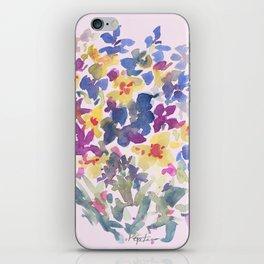 Wildflower Lovelies iPhone Skin
