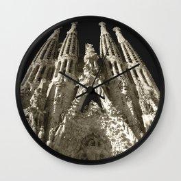 La Sagrada Familia Wall Clock