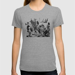 Pablo Picasso, Jeux de pages (Pages Games), 1951, Artwork Reproduction, Design for Men, Women, Kids T-shirt