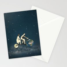 Love Makes The World Go Round Stationery Cards
