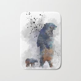 Bear and cub Bath Mat
