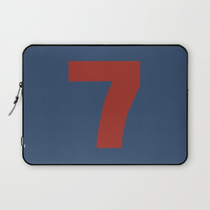 Number 7 Laptop Sleeve