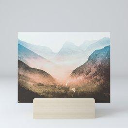 Mountain Adventure 21 - Nature Photography Mini Art Print