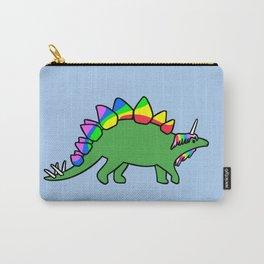 Stegocorn (Unicorn Stegosaurus) Carry-All Pouch
