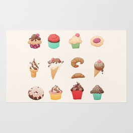 Desserts Rug