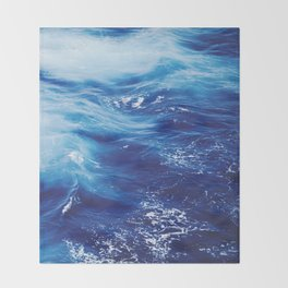 Sea Waters Throw Blanket