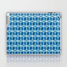 Blue Boxes Laptop & iPad Skin