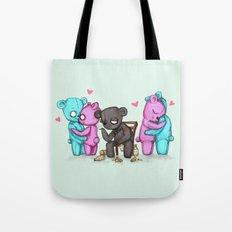 Single Bear Tote Bag