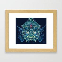 Guardian Yaksha Framed Art Print