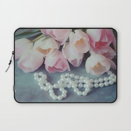 Tulips and Pearls Laptop Sleeve