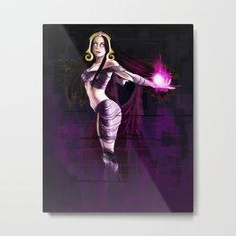 Liliana Vess Magic The Gathering Metal Print