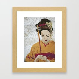 Broken Framed Art Print