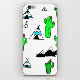 TeePee Party iPhone Skin