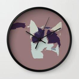 Hello, Cat #2 Wall Clock