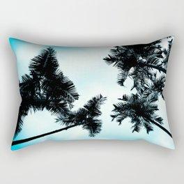 Turquoise Fun - nature photography Rectangular Pillow