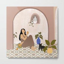 Moroccan Summer Metal Print