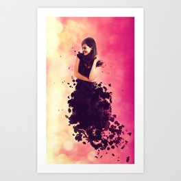 Breaking Art Print