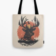 Look Deep Into Nature Tote Bag