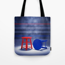 Boxing fight Tote Bag