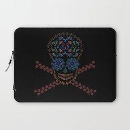 Marine Creatures Skull Laptop Sleeve