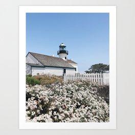 Old Point Loma Lighthouse - II Art Print