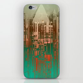 Over the Green / Density Series iPhone Skin