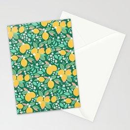 Spring Lemons Stationery Cards