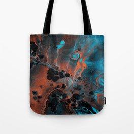Copper Ocean Tote Bag