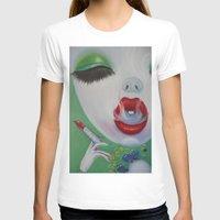 lipstick T-shirts featuring Lipstick by Sahara Novotny