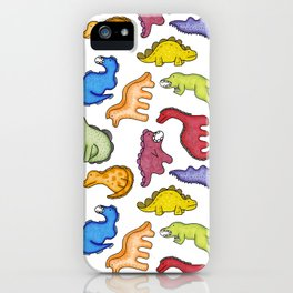 Dinosaur Party iPhone Case
