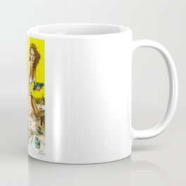 Attack Of The 50 Foot Woman, vintage horror movie poster Coffee Mug