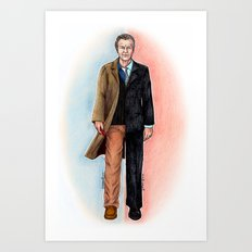 2 WALTER BISHOP (FRINGE) Art Print