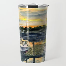 Rocktide Sunset Travel Mug