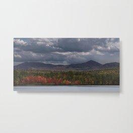 Autumn Mountains Metal Print