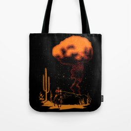 Atomic Cowboy Tote Bag