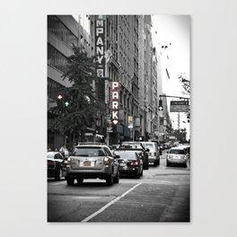 NYC City Street Canvas Print
