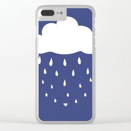 Lovely water Clear iPhone Case