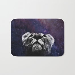 Galaxy Lion Bath Mat