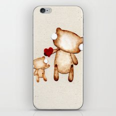 Zombie Bear - I love you! iPhone & iPod Skin