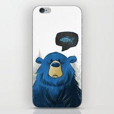 Hungry Bear iPhone & iPod Skin