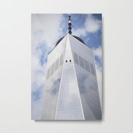 Top of the Tower Metal Print