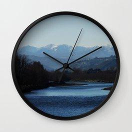 Rimutaka glider Wall Clock