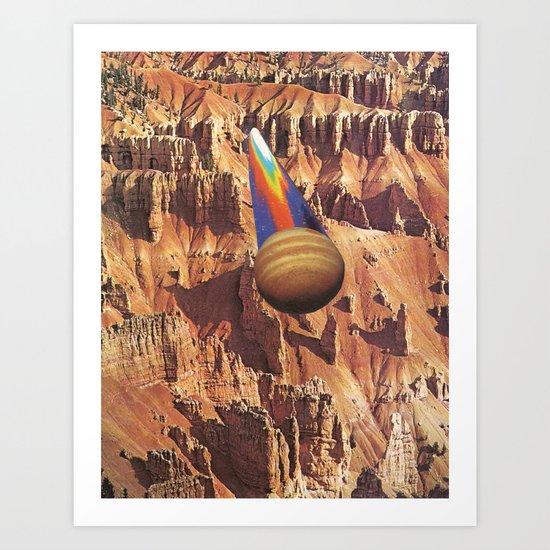 down to earth Art Print