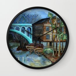 Lanterman's  Wall Clock