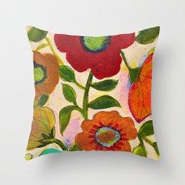 park flower 2 Throw Pillow