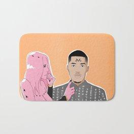 Pink Matter Bath Mat