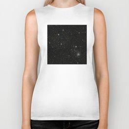 Space - Stars - Starry Night - Black - Universe - Deep Space Biker Tank
