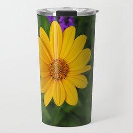 Prairie gold with lavender-violet companions 7489 Travel Mug